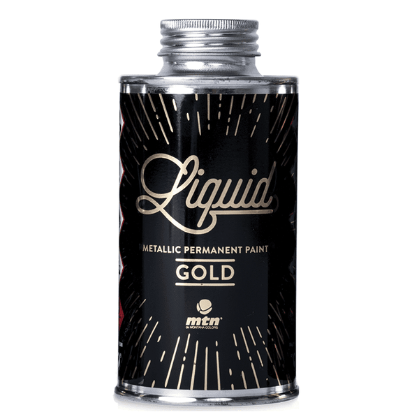 Montana Colors MTN Liquid Gold Metallic Paint