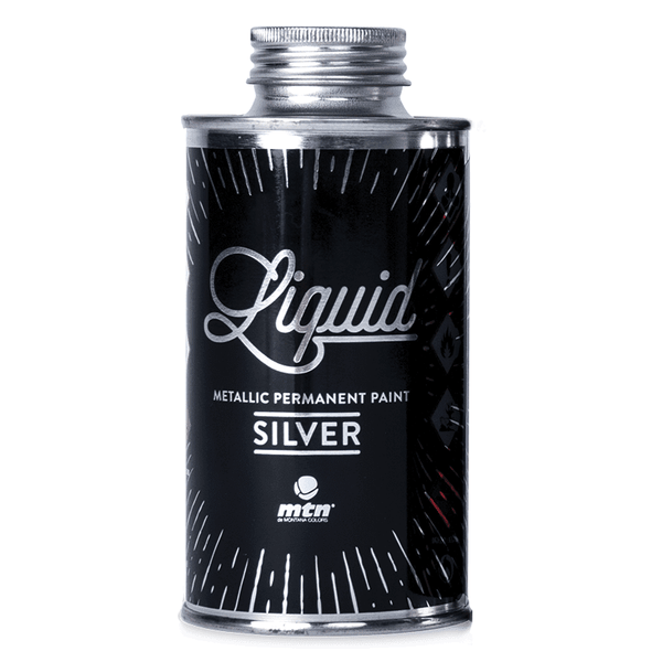 MTN Liquid Metallic Paint - Metallic Silver | Spray Planet