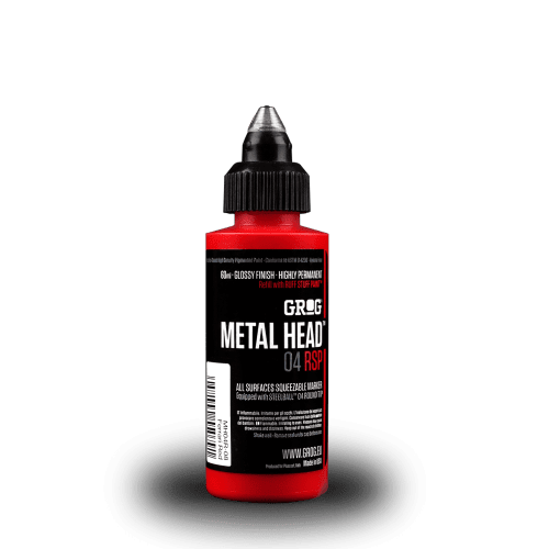 Grog Metal Head 4mm Steel Metal Tip Marker