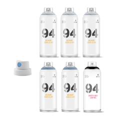 MTN 94 Cool<br>Grey Scale 6-Pack
