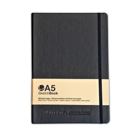 MTN Blackbook</br> Sketch Book </br> A5 Black