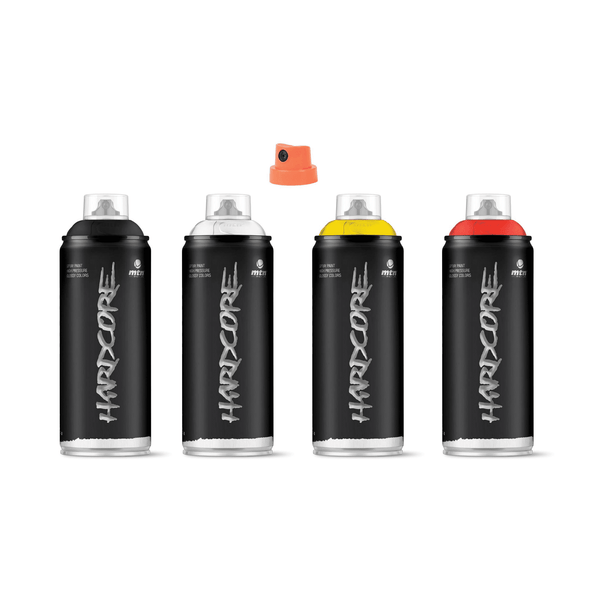 MTN Hardcore Spray Paint Tester Pack | Spray Planet