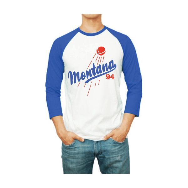 MTN Shop Los Angeles Raglan T-Shirt Front | Spray Planet