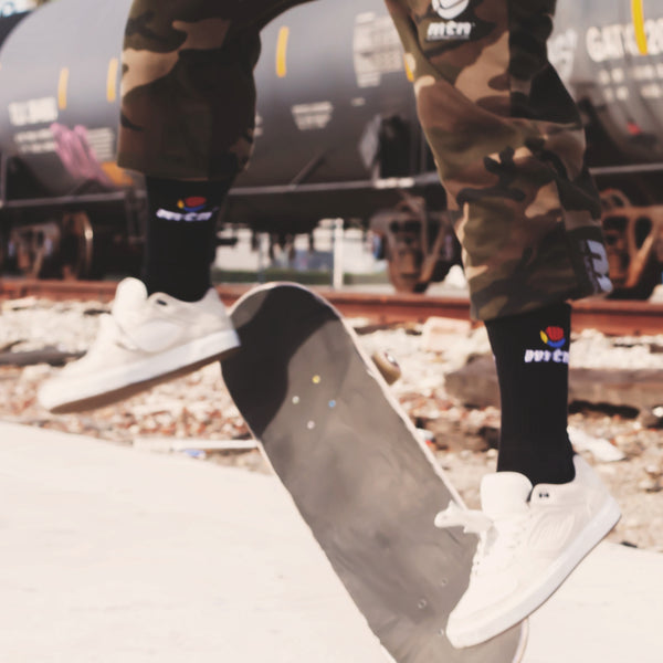 MTN Logo Socks Graffiti Streetwear | Spray Planet