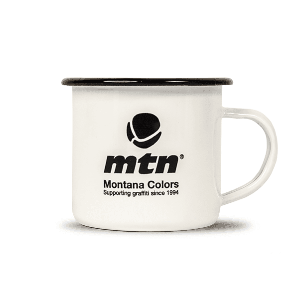 MTN Enamel Mug | Spray Planet
