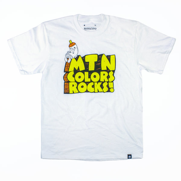 MTN Colors Rocks! Tee Shirt | Spray Planet