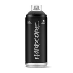 MTN Hardcore Spray Paint - Matte Black (HRVMatte Black)