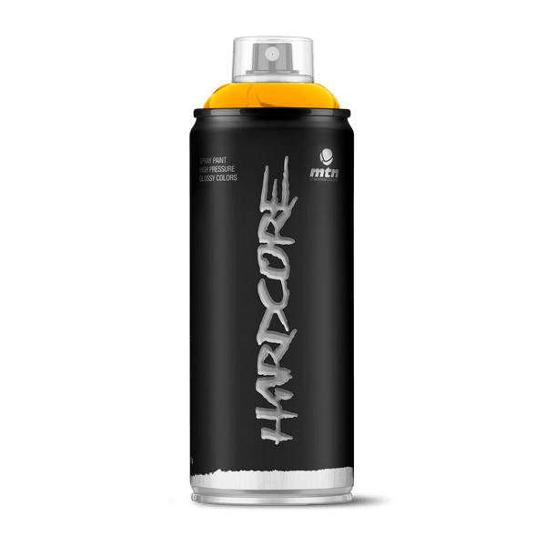 MTN Hardcore Spray Paint - Medium Yellow | Spray Planet