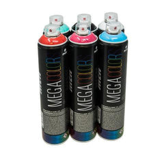 Mega Colors 500ml GTK 6 Pack