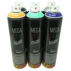 Murder Scene<br>Mega Colors 6 Pack
