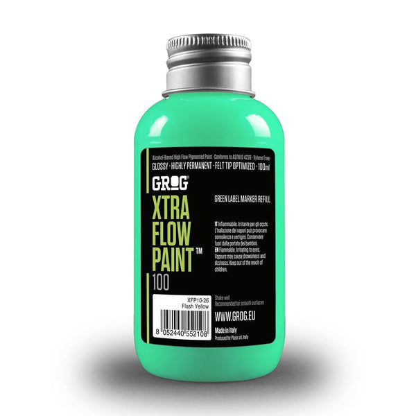 Grog Xtra Flow 100ml Paint Refill - Miami Green