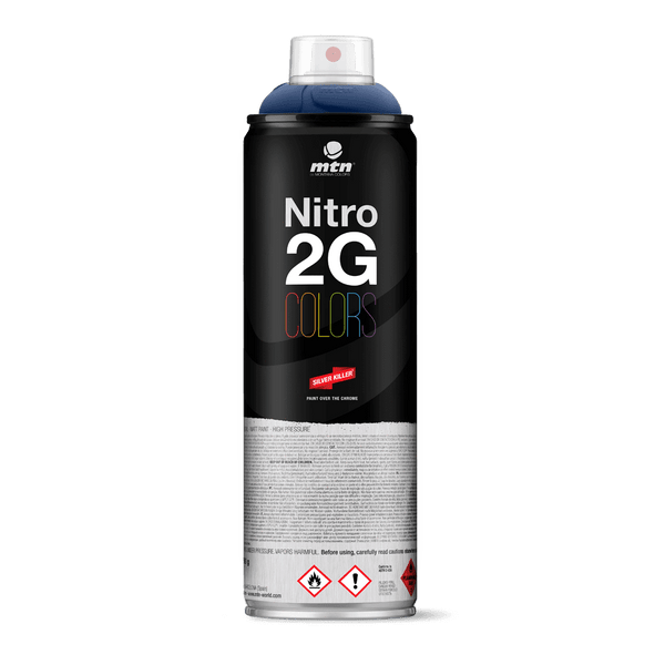 MTN Nitro 2G Colors Spray Paint - Navy Blue | Spray Paint