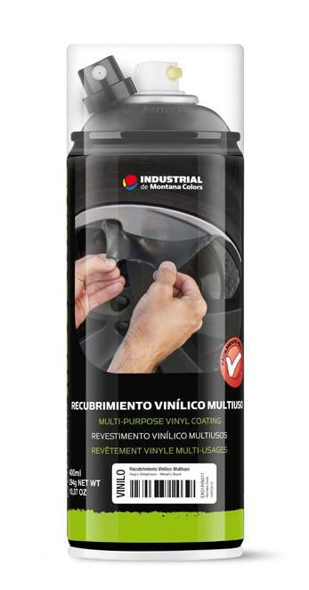 MTN Industrial Vinyl Coating - Metallic Black | Spray Planet