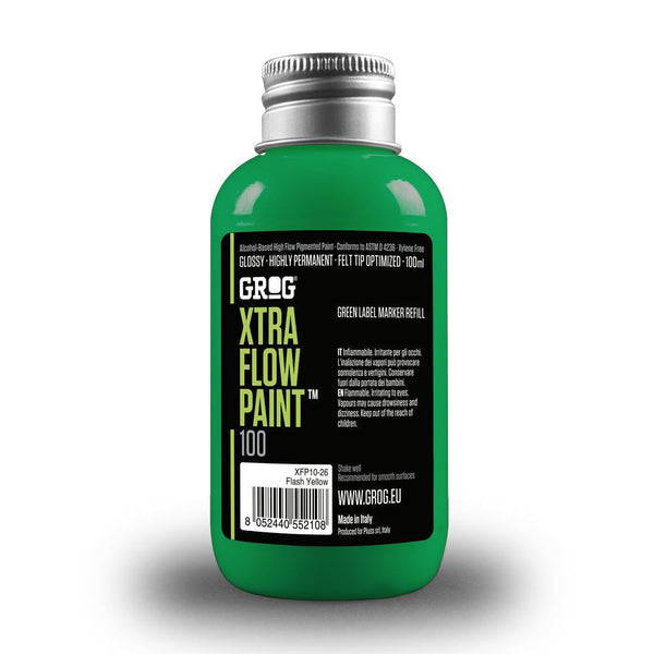 Grog Xtra Flow 100ml Paint Refill - Orbitory Green