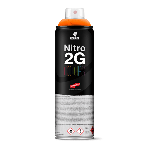 MTN Nitro 2G Colors Spray Paint - Orange | Spray Planet