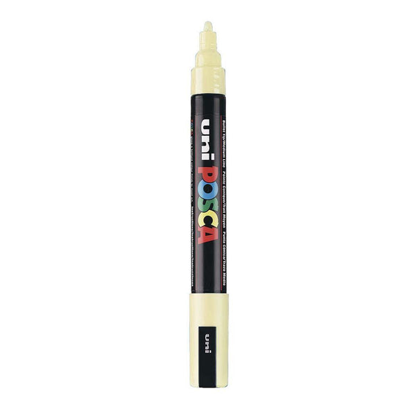 Posca P-5M Water Based Marker - 5mm - Ivory