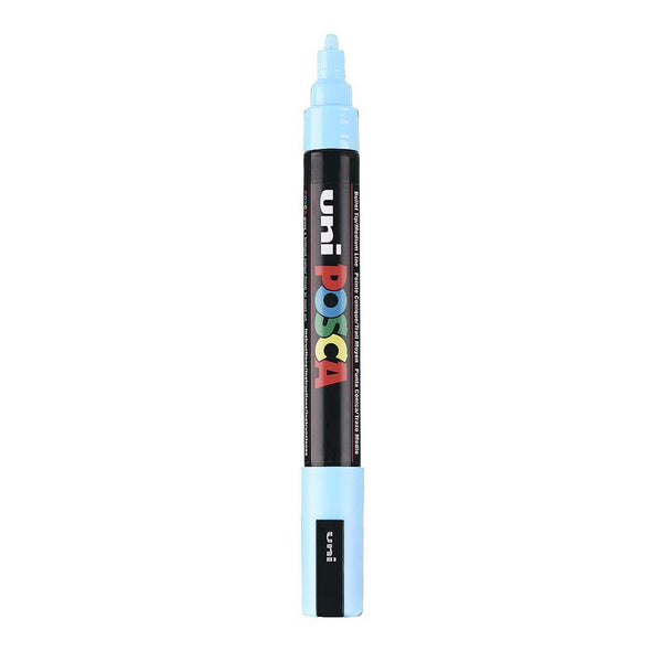 Posca P-5M Water Based Marker - Sky Blue 5mm | Spray Planet