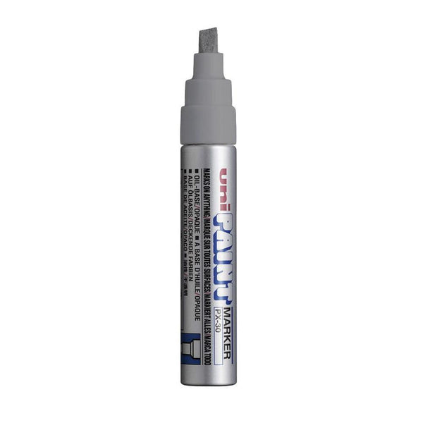 Posca PX30 Paint Marker - Metallic Silver | Spray Planet