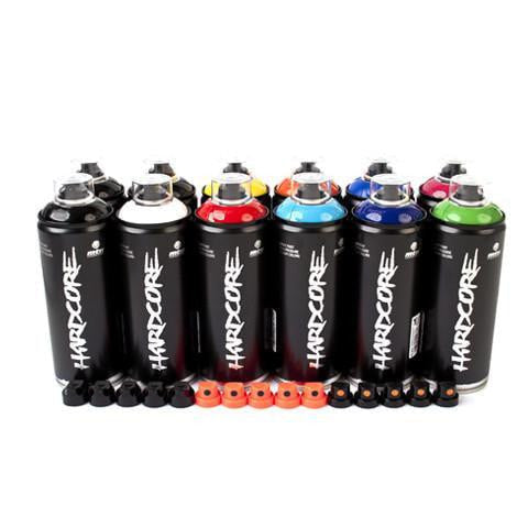 MTN Power Colors 12 Spray Can Pack