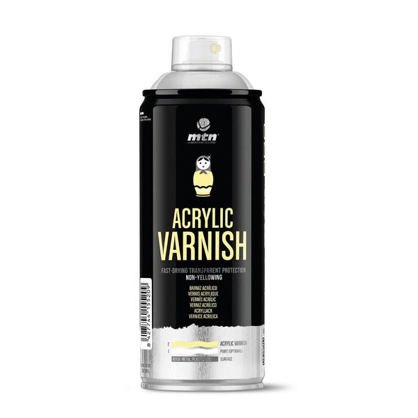 MTN PRO Acrylic Spray Varnish | Spray Planet