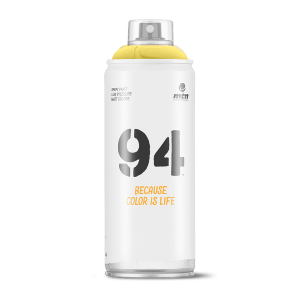 MTN 94 Spray Paint - Party Yellow | Spray Planet