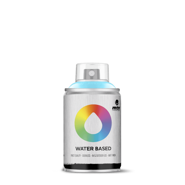 MTN Water Based 100 Spray Paint - Phthalo Blue Light | Spray Planet