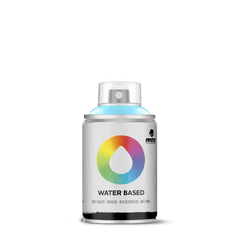 MTN Water Based 100 Spray Paint - Phthalo Blue Light (W1RV-29)