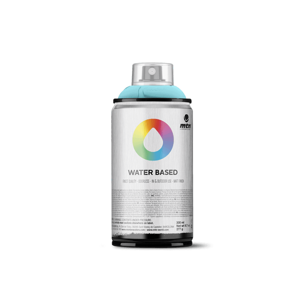 MTN Water Based 300 Spray Paint - Phthalo Blue Pale | Spray Planet
