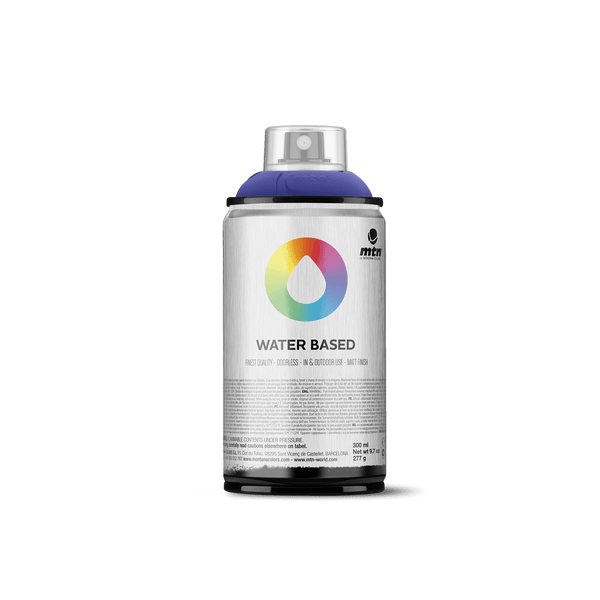 MTN Water Based 300 Spray Paint - Primary Blue Dark | Spray Planet