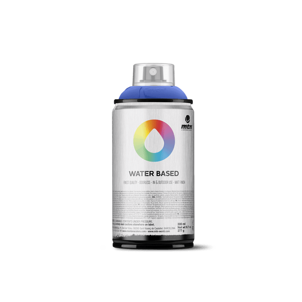 MTN Water Based 300 Spray Paint - Primary Blue Deep | Spray Planet