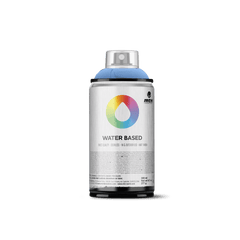 MTN Water Based 300 Spray Paint - <strong>NEW</strong> Primary Blue Light (WRV-337)