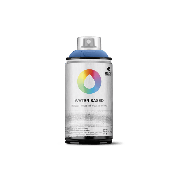 MTN Water Based 300 Spray Paint - Primary Blue | Spray Planet