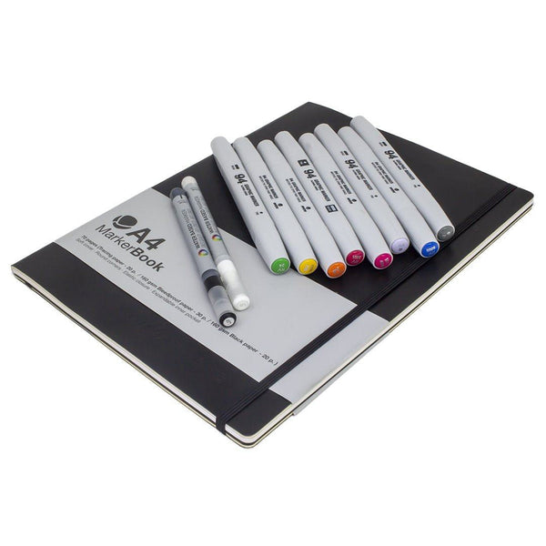 MTN Pro Blackbook Marker Pack Primary Edition | Montana Colors | Spray Planet
