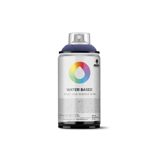 MTN Water Based 300 Spray Paint - Prussian Blue Deep | Spray Planet