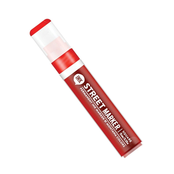 MTN Street Ink Marker 15mm - Red | Spray Planet