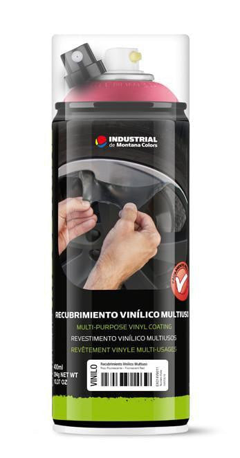 MTN Industrial Vinyl Coating Spray - Fluorescent Red | Spray Planet