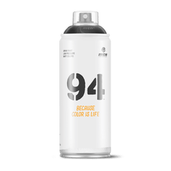 "MTN 94 Spray Paint - <div style=""color:white;"">Shadow Black (Spectral)</div>"