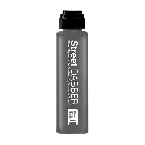 MTN Street Paint Dabber 90 - Black 90ml Dripper