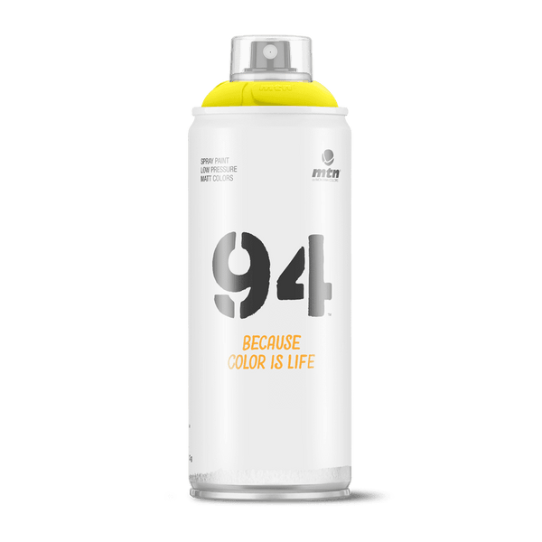 MTN 94 Spray Paint - Sulfur Yellow | Spray Planet