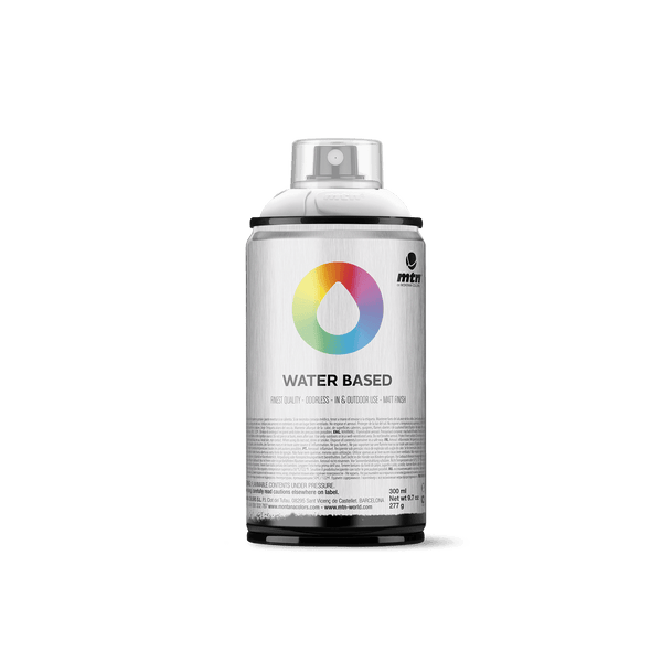 MTN Water Based 300 Spray Paint - Titanium White | Spray Planet
