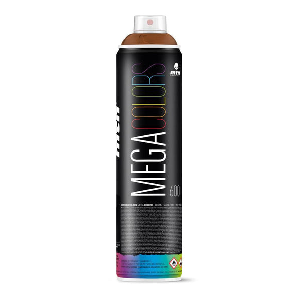 MTN Mega Colors Spray Paint - Toasted Brown | Spray Planet