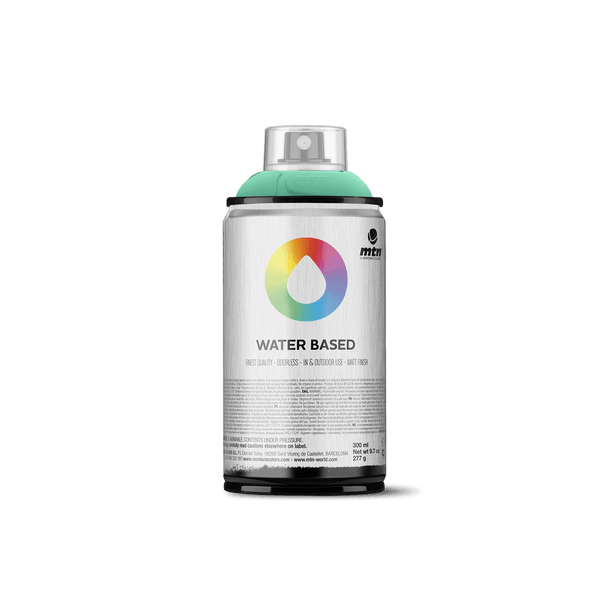MTN Water Based 300 Spray Paint - Turquoise Green | Spray Planet