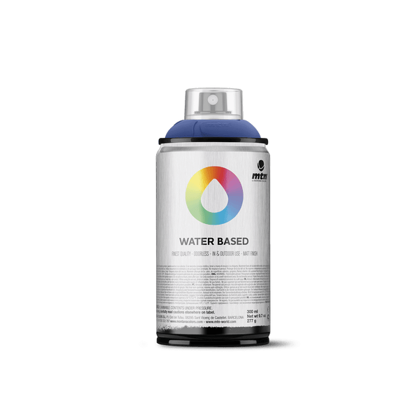 MTN Water Based 300 Spray Paint - Ultramarine Blue | Spray Planet