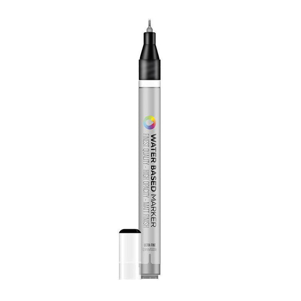 MTN Ultra Fine Water Based Markers 08mm - Carbon Black | Spray Planet