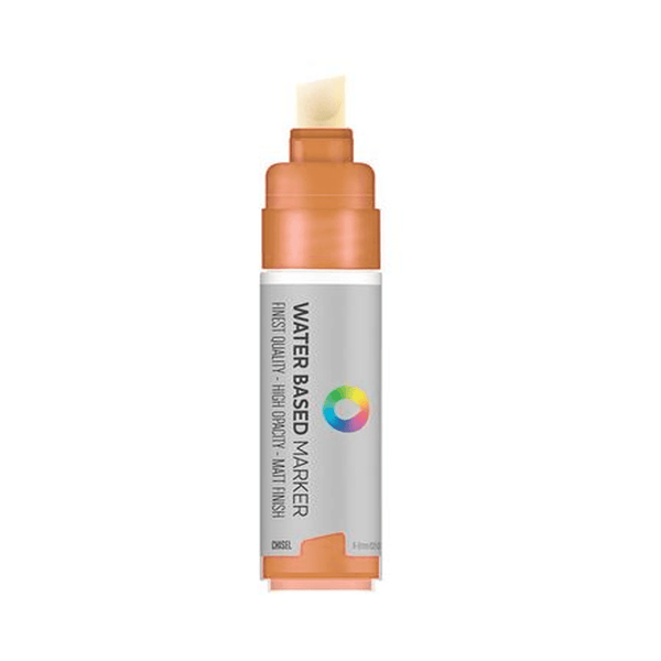 MTN Water Based Chisel Marker 8mm - Raw Sienna | Spray Planet
