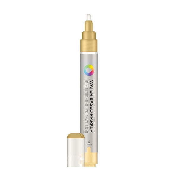 MTN Water Based Marker 3mm - Frame Gold | Spray Planet