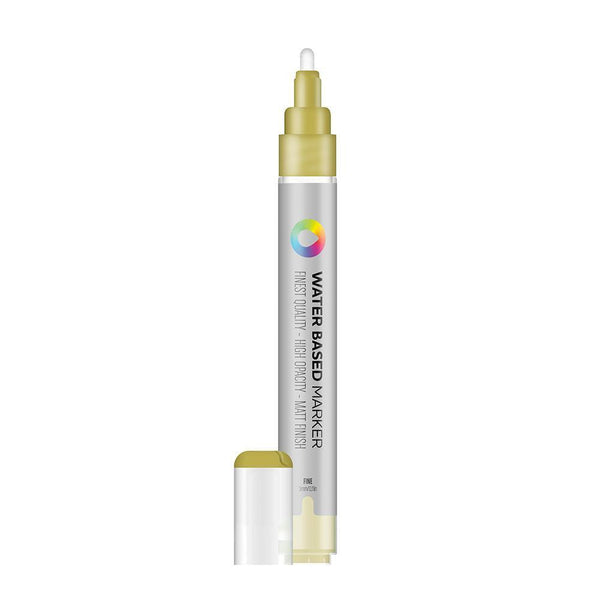 MTN Water Based Marker Medium 5mm - Frame Gold | Spray Planet