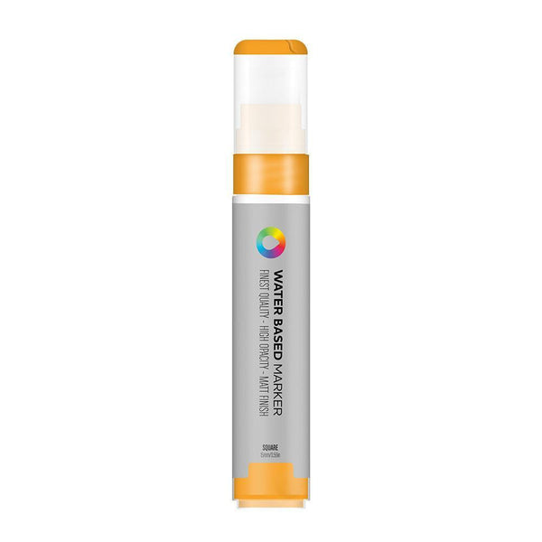 MTN Water Based Marker Square 15mm - Azo Orange | Spray Planet