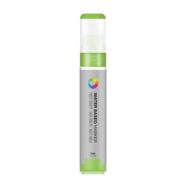 MTN Water Based Marker Square 15mm - Brilliant Light Green | Spray Planet