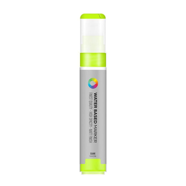 MTN Water Based Marker Square 15mm - Brilliant Yellow Green | Spray Planet